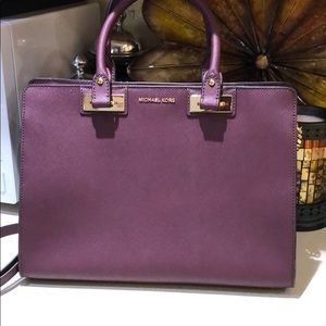 New without Plum Michael Kors Crossover Bag